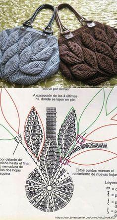Crochet Handbags Crochet Purses Pola Rajut Knitted Bags Handmade Bags Emboss Purses And Bags Crochet Patterns Crochet Necklace Crochet Handbags, Crochet Purses, Crochet Shoes, Hand Knitting, Knitting Patterns, Crochet Patterns, Crochet Pouch, Free Crochet, Beach Crochet