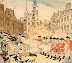 The Boston Massacre 11 colonist killed or wounded, no British soldiers wounded. This is were the first deaths of the American Revolution happened.
