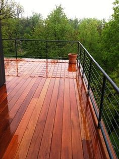 Mataverde Garapa Hardwood Deck - contemporary - porch - new york - Mataverde Decking