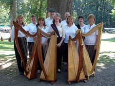 Syracuse harp group.  Meets monthly