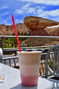 Disneyland Secret Menu Items - Neopolitan Milkshake Flos