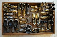 mr. finch's small metal shoe collection