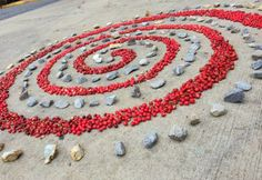 This lesson uses found materials to create one large visual gift for the public.