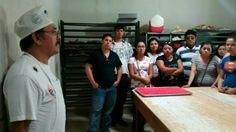 Visitando la panadería, Don Luis en Hualahuises, Nuevo Leon. México