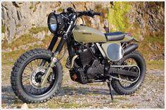 Honda NX650 Dominator - Pipeburn - Purveyors of Classic Motorcycles, Cafe Racers & Custom motorbikes