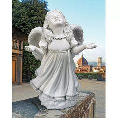 Estatua Angel De La Gracia De Dios Toscano - $ 1.087.900 en Mercado Libre