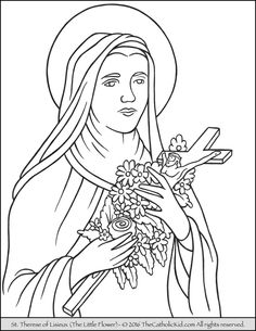 1000 Images About Catholic Coloring Pages For Kids On