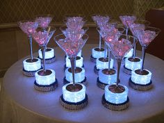 fire and ice centerpieces - Google Search