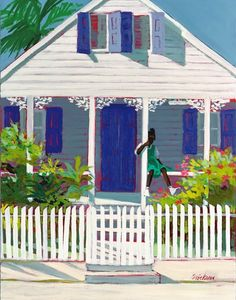 Grapevine House ~ by artist Shari Erickson