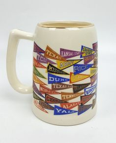 1000+ images about Mugs Vintage Funky and Collectible on ...