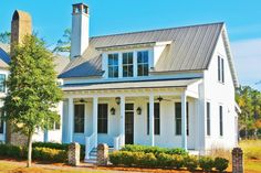 Call the contractor, honey! We hope the builder is on standby because one look at these classic Southern homes and you'll want to move right in. From wide porches, stately columns, and cozy cottage details—there's something to appeal to every Southern style.