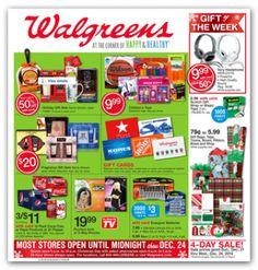 Walgreens Coupon Deals: Week of 12/21