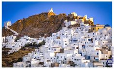 Very close to Livadi is the Chora of Serifos, the capital of the island and one of the most beautiful in Cyclades | Σε μικρή απόσταση από το Λιβάδι βρίσκεται η Χώρα της Σερίφου, πρωτεύουσα του νησιού και μία από τις ομορφότερες των Κυκλάδων. Μάθετε περισσότερα στο: http://www.discover-serifos.com/el/anakalupste/aksiotheata/oikismoi/xora