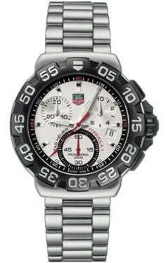 TAG Heuer Men`s CAH1111.BA0850 Formula 1 Collection Chronograph Stainless Steel Watch $945.00 #bestseller