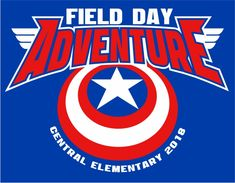 - Field Day Captain America - So Funny Epic Fails Pictures Class Of 2018 Shirts, School Shirts, Captain America 2, Track Meet, Design Fields, Field Day, Epic Fail Pictures, Spirit Wear, Chicago Cubs Logo