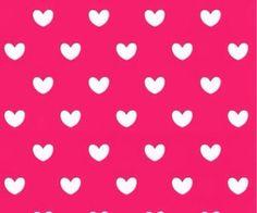fondo rosa con corazoncitos blancos