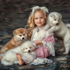Dogs And Kids, Animals For Kids, Baby Animals, Cute Animals, Cute Photography, Children Photography, Animal Photography, Cute Animal Photos, Cute Baby Pictures