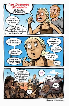 Daenerys - ASoIaF / Game of Thrones by Azad-Injejikian on DeviantArt Game Of Thrones Comic, Game Of Thrones Meme, Casa Targaryen, Daenerys Targaryen, Khaleesi, Game Of Throne Lustig, Hbo Got, Game Of Thrones Instagram, Game Of Thones