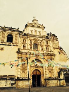 Iglesia de San Francisco en Antigua Guatemala