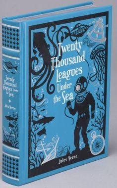 Twenty Thousand Leagues Under the Sea (Barnes & Noble Leatherbound Classics)