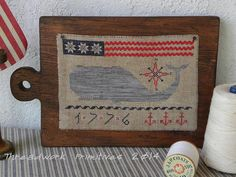 Primitive Cross Stitch Pattern All by threadworkprimitives