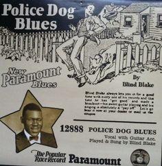 Blind Blake - Police dog blues