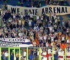 We certainly do hate them #coys #yidarmy #barmyflags #footballflags #tottenham #tottenhamhotspur #spurs #footballpassion #ttid