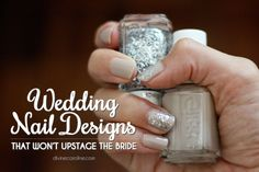 Prepping for a wedding that's not yours? Keep your mani choices in mind. Check out our best subtle nail designs that will keep you looking classy but not over-the-top. #naildesigns #wedding #weddingnails