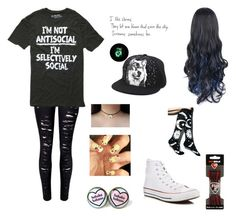 """""""My oc"""" by awakard-jedi-turtle ❤ liked on Polyvore featuring Converse and Sof Sole"""