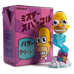"The Simpsons Mr. Sparkle 7"" Medium Figure - Kidrobot - 2"