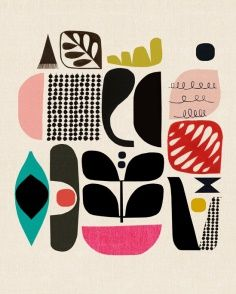 Print & Pattern >> Sostarko Kristina and Jason Odd: Inaluxe prints. Scandinavian,
