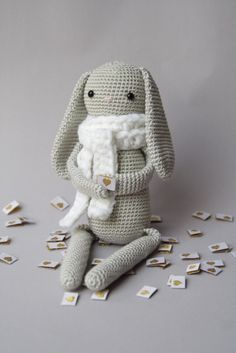 Häkelanleitung Hase Paul ♥ Crochet Pattern Bunny Paul – valentinahaekelt – Noch ein Häkelblog