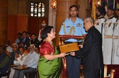 "Proud Moment for Hindi Center, the Translation and Research Division of Modlingua Learning. Our Patron Mrs. Sneh Thakore, editor and publisher ""Vasudh"" receives President Award for her outstanding contribution in promoting Hindi abroad on April News India, Division, Editor, Presidents, Awards, Canada, Teacher, Passion, Culture"