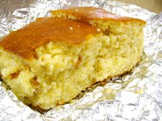 I'm not kidding- this is THE BEST sweet cornbread EVER-------Moist AND sweet cornbread.