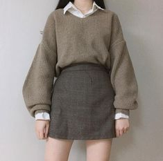 japanese fashion asian fashion F - fashion Style Outfits, Girly Outfits, Vintage Outfits, Cool Outfits, Casual Outfits, Fashion Vintage, Style Clothes, Winter Outfits, Cute Fashion