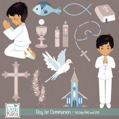 Boy First Communion Clip Art