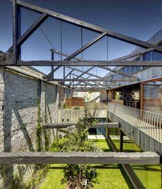 Entrepôt transformé en loft à Sydney