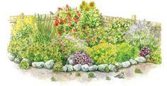 Grow your own dye garden--marigolds, cosmos, indigo, and others.