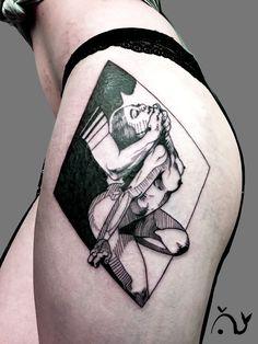 Le tattoo érotique d'Anais.