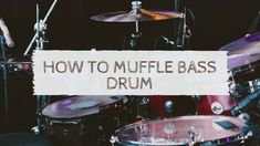Muffling is an interesting technique to control the sound of any bass drum. There are few techniques to muffle your bass drum. Here are some awesome tips to muffle your bass drum effectively. Drum Lessons, Lessons Learned, Diy Light Shade, Light Shades, Roland V Drums, Junior Drum Set, Drum Drawing, Electric Drum Set, Best Drums