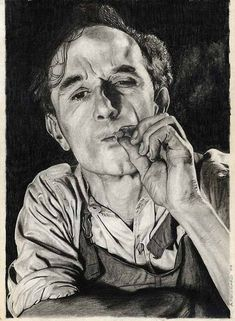 by Arpeco. This terrific portrait is not new – it's almost a quarter of a century old. The shadowing in the subject's clothing is superb, as is the faint suggestion of cigarette smoke.
