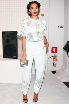 Fab In 3.1 Philip Lim Resort 2014: SOLANGE KNOWLES