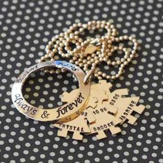gold filled family circle