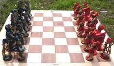 ajedrez gauchesco federales y unitarios