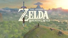 The Legend of Zelda: Breath Of The Wild Revealed. Can't wait!!!!