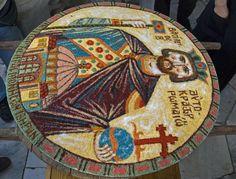 Κόλλυβα en l'honneur de St Constantin