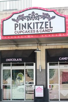 Pinkitzel in Oklahoma City. AMAZING candy store.  Awesome cupcakes.  We would always go after a competition for LXA!