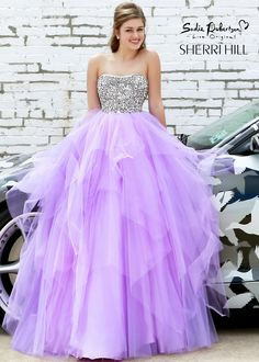 so thats why my prom dress is so expensive!!!  Sadie Robertson Live Original by Sherri Hill 11085