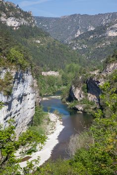 Gorges du Tarn, Lozère, La Malène, Languedoc-Roussillon_ France