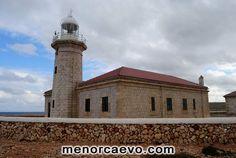 Faro de Punta Nati, Ciutadella,  Menorca. Ciutadella Menorca, Light House, Monuments, Palaces, Islands